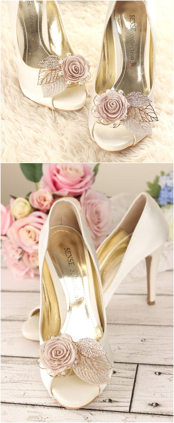 Rhinestone Shoe Clips Crystal Bridal Shoes Wedding Pearl Gold In 2018 All Dressed Up