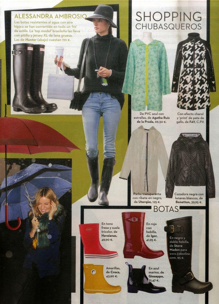 IGOR en la Revista Hoy Corazón.  #igor #igorshoes #boots #rainboots #looks #blogs #outfit #rain #lluvia #moda #tendencias #bloggers #celebs #estilo #style #revista #magazine #press #prensa