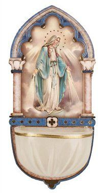 Miraculous Holy water Font.