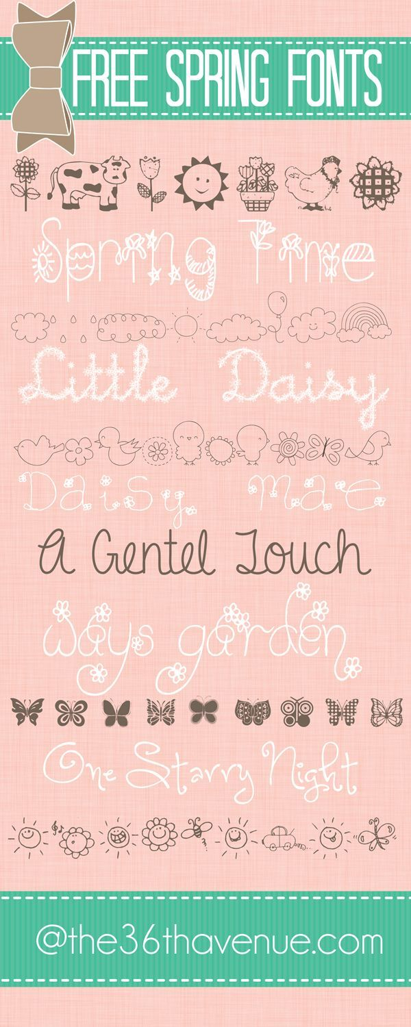 Easter will be here before we know it. Today I'm sharingmy new Easter Printa…   – Fonts and More
