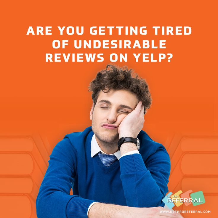 Yes, Undesirable Reviews On Yelp Are Most Of The Time Biased! NetPro  Referralu0027s Program However Will Vouch For Your Expertise And Professionalism  So You ...