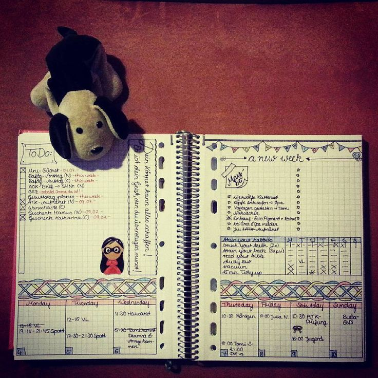#planwithmechallenge day nr.9: #useful :) i love my weekly spread! It's my place for braindump....i have todos with fix dates and stuff i wanna do in the next time...also I have my habbit tracker and an overview for the weekly appointments :)