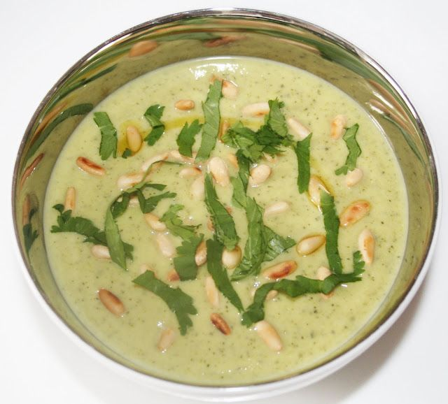 La Cuisine de Bernard: La Soupe Froide de Courgettes