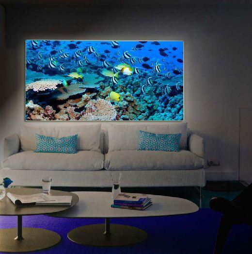 Cuadros retroiluminados arrecife decoracion beltran tu - Decoracion beltran ...