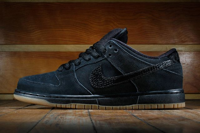 Nike Dunk Low Pro (Black/Gum)