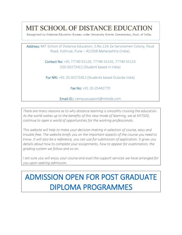 The  Best Distance Education Courses Ideas On
