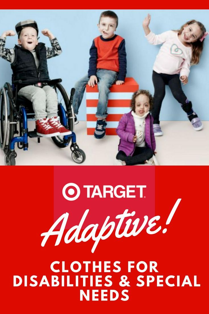 a4e8ac7c5c942 Target adaptive clothing is for kids and adults with disabilities and/or  special needs - hip clothes that work with disability and special needs |  kids with ...