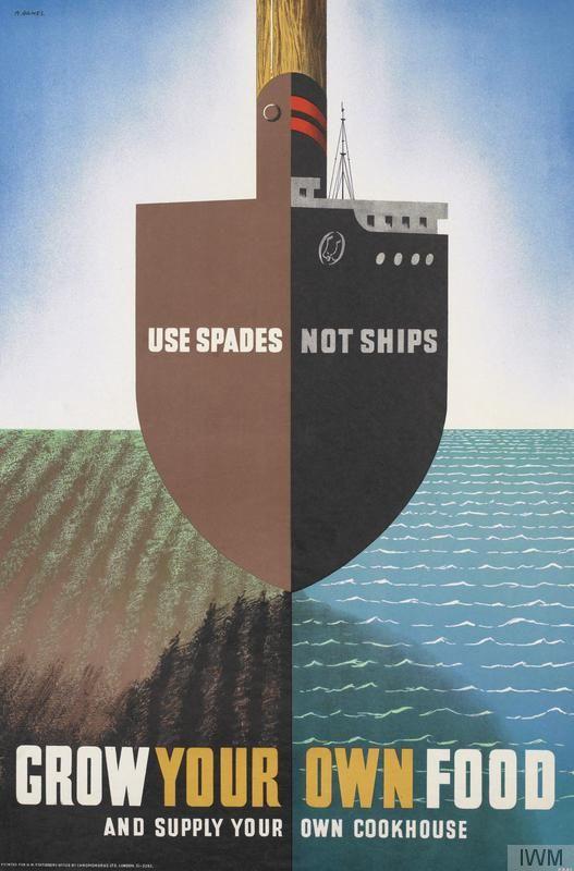 Second World War British poster