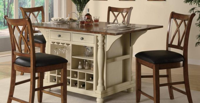 Tall Kitchen Table Sets Beautiful Tall Kitchen Table and Chairs