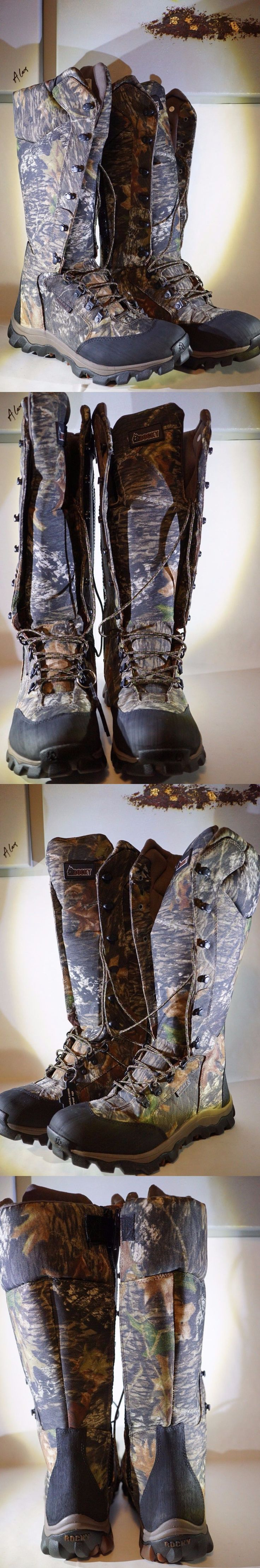 Hunting Footwear 153008: Rocky Mens Lynx Snake Boot Hunting Boot Side Zipper, Mobu, Size 11 M Us -> BUY IT NOW ONLY: $159.99 on eBay!