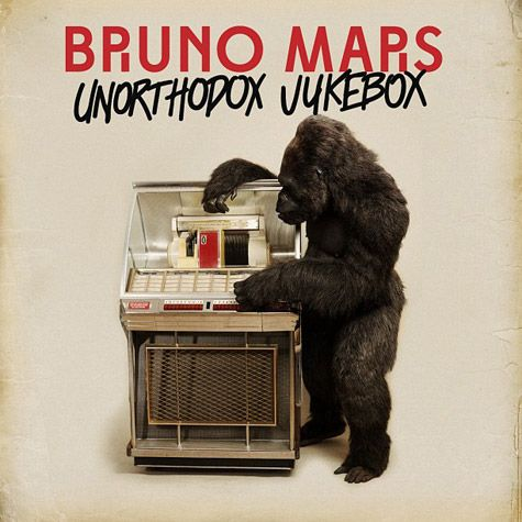 "New Bruno Mars album cover and track listing!   Unorthodox Jukebox Tracklisting  1. ""Young Girls""2. ""Locked Out of Heaven""3. ""Gorilla""4. ""Treasure""5. ""Moonshine""6. ""When I Was Your Man""7. ""Natalie""8. ""Show Me""9. ""Money Make Her Smile""10. ""If I Knew"""
