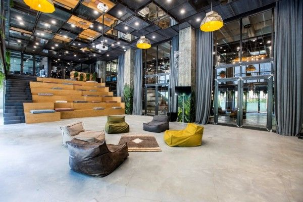 Kontra converts an old Istanbul factory into a laid back office space | Design Middle East