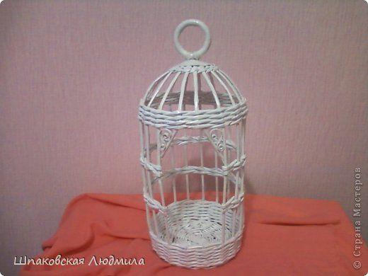 Поделка изделие Плетение Птицы счастья залетайте  Бумага газетная Трубочки бумажные фото 7