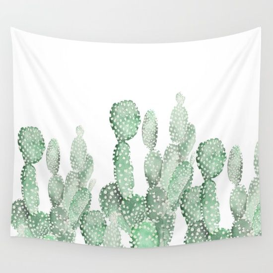 Cactus Wall Tapestry
