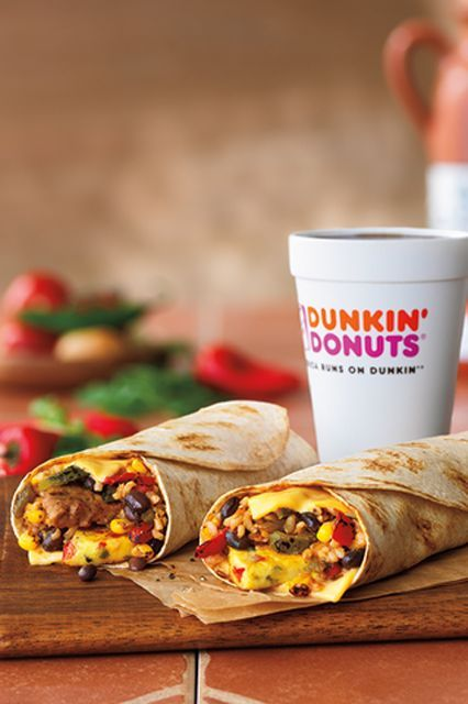 New GranDDe Burrito Breakfast at Dunkin' Donuts! Check it out and enter to win yours! #ad