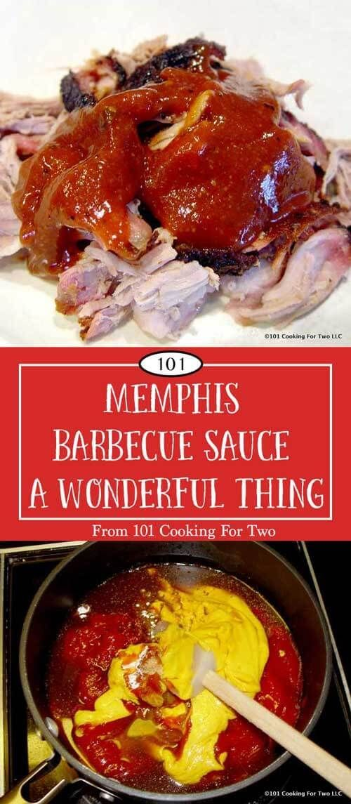 "THE BEST BBQ SAUCE, EVER. This Memphis Barbecue sauce would make cardboard taste great. I don't use the term ""best"" lightly, but this qualifies. via @drdan101cft"