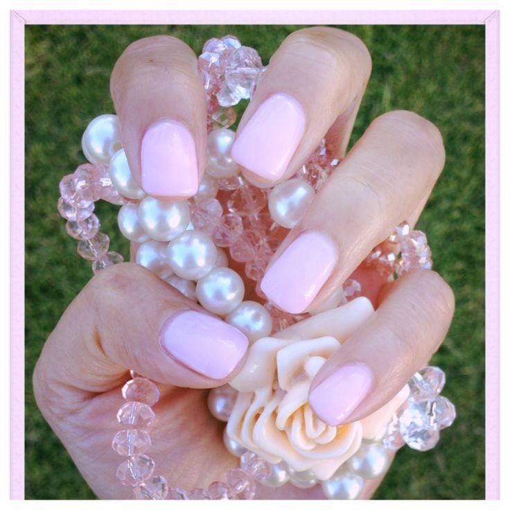 Gel Nail Polish Light Pink: Light Pink Gel Nails