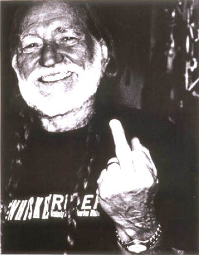 texan, Willie Nelson always played by his own rules. he told me you he think your state sucks. Texas forever