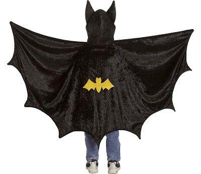 Kostyme, batmankappe med hette 3-5 år fra Sprell. Om denne nettbutikken: http://nettbutikknytt.no/sprell-no/