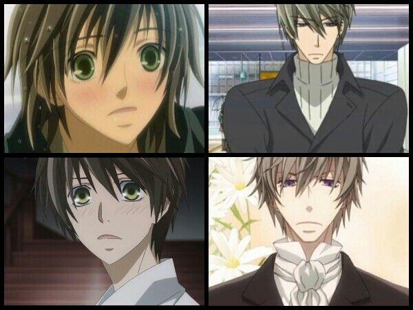 Junjou Romantica meets Hybrid Child:                                                    Kotarou and Hazuki's Reincarnation: Misaki and Akihiko~!
