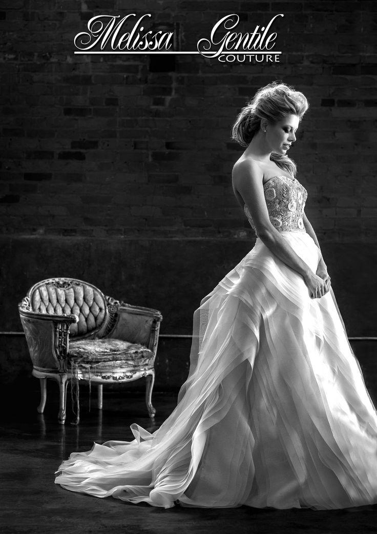 Fall 2014 Wedding dresses, Wedding dress  Dress: Melissa Gentile Hair and Makeup: Tomoko Hikada Model: Alexandra