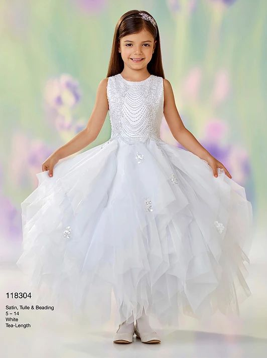 f7f98e2d6 Joan Calabrese | item 118304 | Communion Dresses | First communion ...