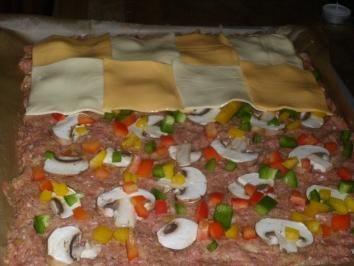 Rezept: Hauptgericht: Waldecker Hackfleischpizza
