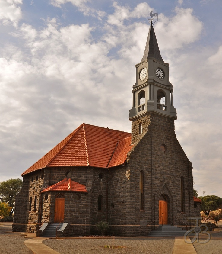 Dutch Reformed church of Luckoff, Eastern Cape, South Africa. By #PhotoJdB