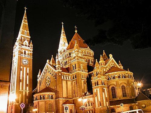 Ungarn. Dóm - Szeged