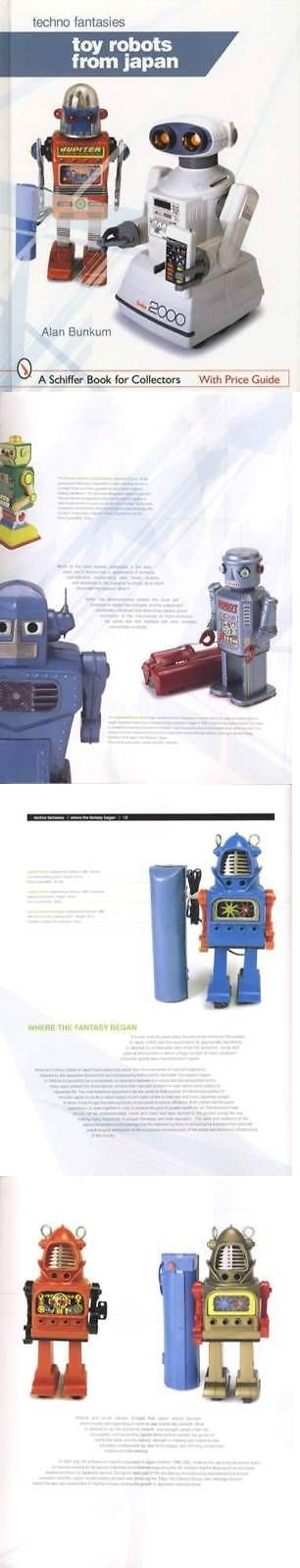 Other Vintage Robot Toys 2662: C1960s-C1980 Vintage Japanese Toy Robots Collector Guide Inc Tomy, Sony And More -> BUY IT NOW ONLY: $39.95 on eBay!