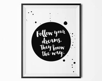 Wise Quote Poster Inspirational Quote by CloudWalkerStudios