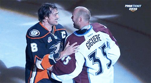Selanne and Giguere