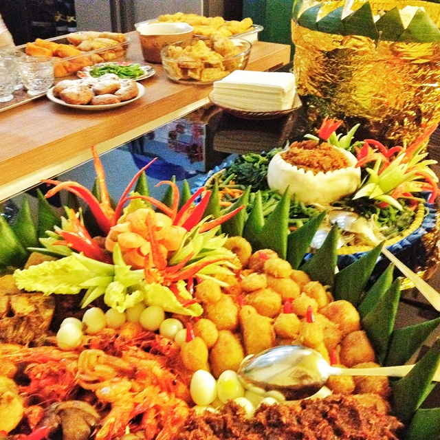 Nasi tumpeng from Indonesia