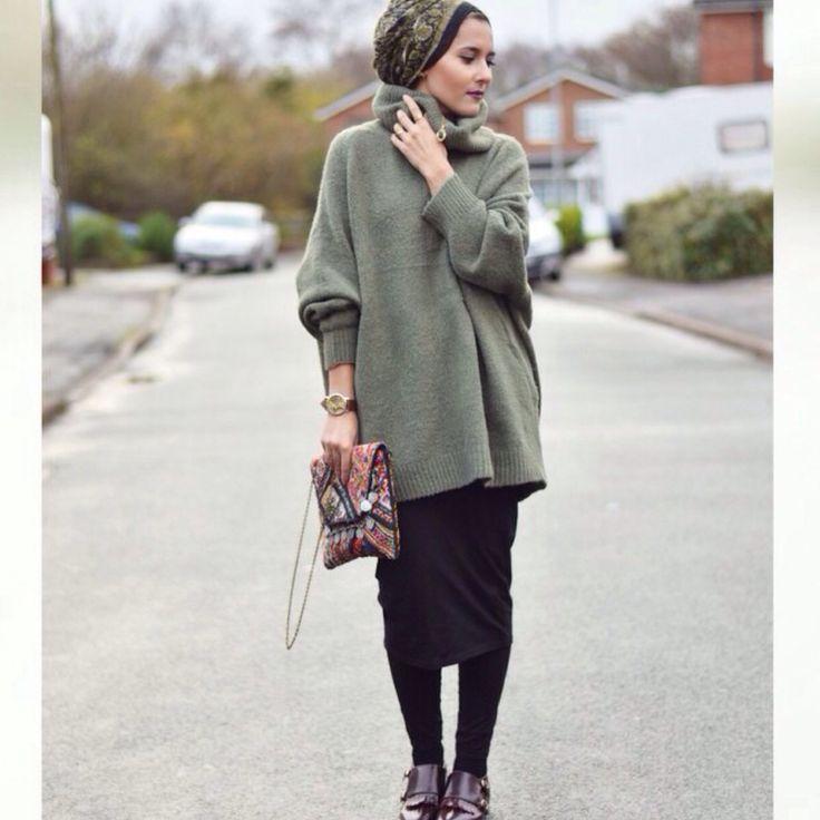 midi skirt oversized jumper those shoes dinatokio my