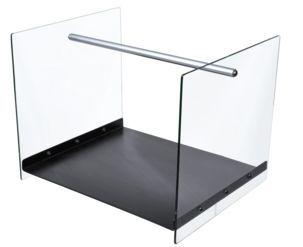 Vedkurv med glassvanger