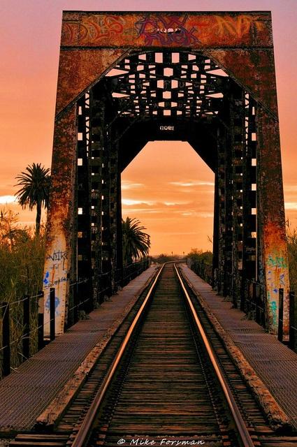 Ventura River Railroad Bridge (Mike Forsman)