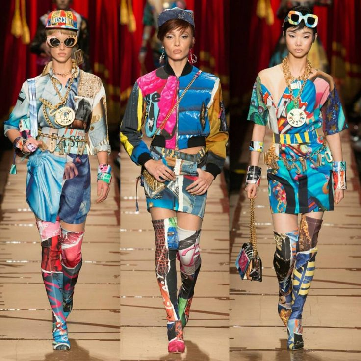MOSCHINO FALL READY TO WEAR 2017 COLLECTION.   FitnessandFashionandHealth