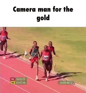 Camera man for the gold GIF