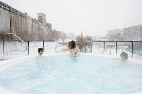 7 spas nordiques au Québec pour se détendre