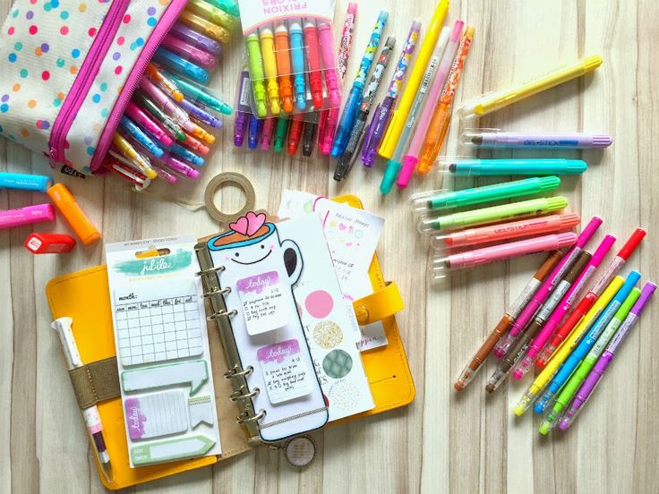 Happiness is Scrappy: Planners | Confession of A Stationery Addict (Pilot Frixion)