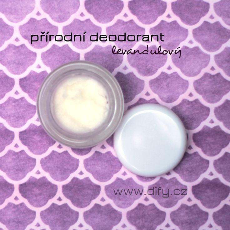Přírodní deodorant s kokosovým olejem a bambuckým máslem