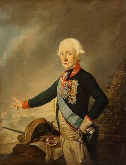 Joseph Kreutzinger - Portrait of Count Alexander Suvorov -