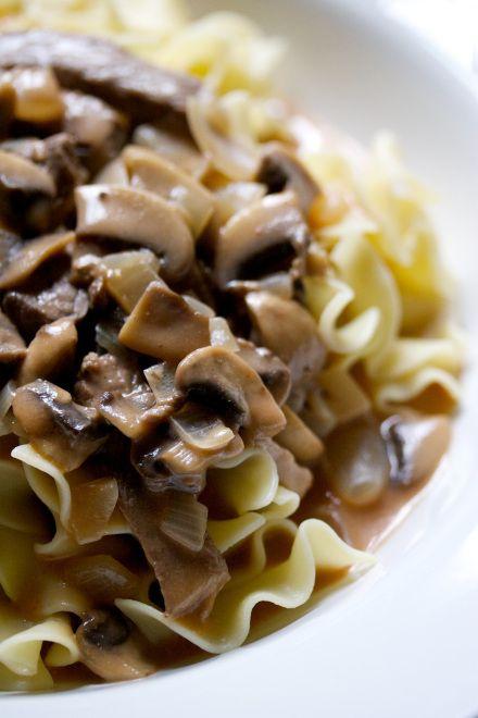 beef stroganoff | movita beaucoup | Yummy | Pinterest