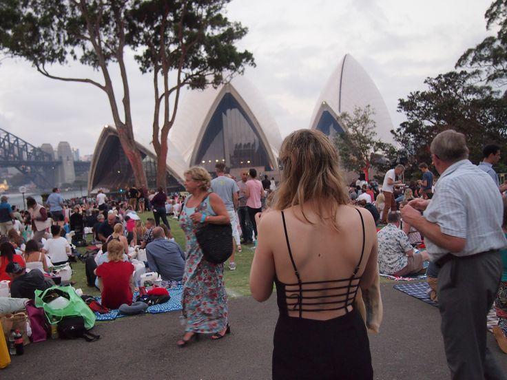 NYE Sydney, 2015. Jumpsuit fun!