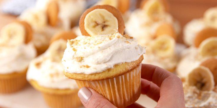 Banana pudding lovers rejoice! Banana pudding cupcakes