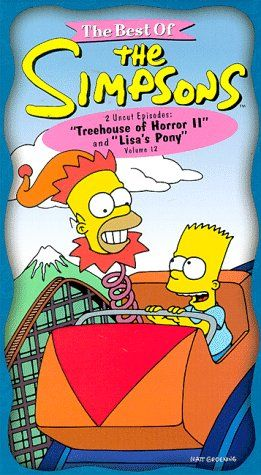 The Best of The Simpsons Vol. 12 - Treehouse of Horror 2/ Lisas Pony [VHS] @ niftywarehouse.com #NiftyWarehouse #TV #Shows #TheSimpsons #Simpsons