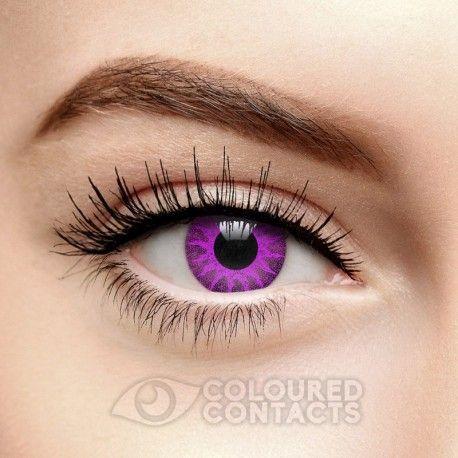 Purple Violet Solar Coloured Contact Lenses (90 Day)