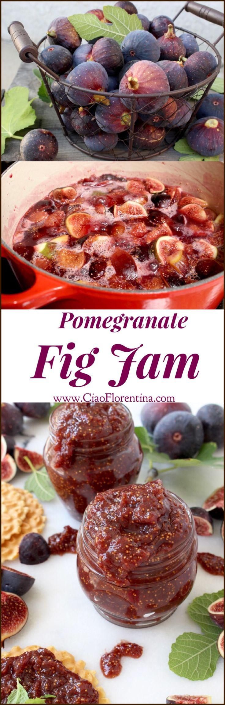 Fig Jam Recipe ( Easy ) | CiaoFlorentina.com @CiaoFlorentina