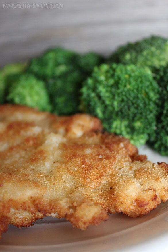 Dit klassieke kip schnitzel kan niet kloppen!  Zo'n lekker diner optie het hele gezin zal genieten!