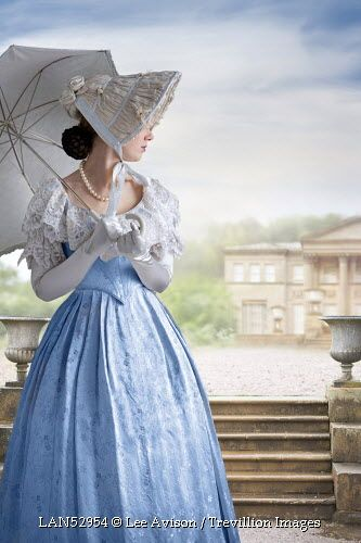© Lee Avison / Trevillion Images - victorian-woman-with-parasol